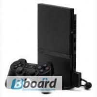 Игровая консоль Sony PS2 slim. Плюс диски