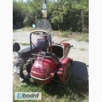 Продам яву 634-350 с коляской кривой рог