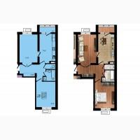 Продается 2 комнатная квартира в ЖК Маршал Сити