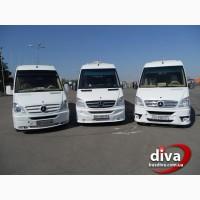 Аренда микроавтобусов в Одессе. Заказать автобус или микроавтобус 22 места. ДИВА