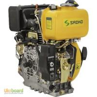 Двигатель дизельный Sadko (Садко) DE-310ME. 7.0 л.с. Шлицевой вал. Электростартер