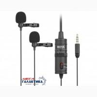 Петличный микрофон boya by-m1dm проводное black box