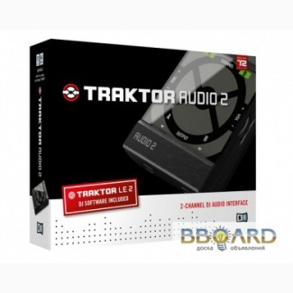 Native Instruments traktor audio 2 звуковую карту купить цена 2580