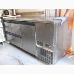 Продам б/у холодильный стол Zanussi