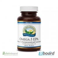 Омега-3 БАД NSP рыбий жир в капсулах, снижает уровень холестерина чистка сосудов