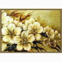Натюрморты из янтаря (цена указана для размера 20х30)