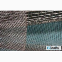 Сетка тканая н/ж 8х2 мм сталь 12Х18Н10Т Гост-3826 ширина 1 м