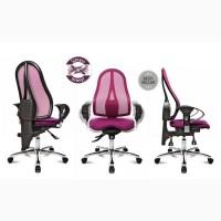Компьютерные Эргономичные Кресла немецкой компании TopStar SITNES - 15 G03, Вишневый