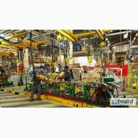 Производитель автодеталей на автозавод – 20 мужчин