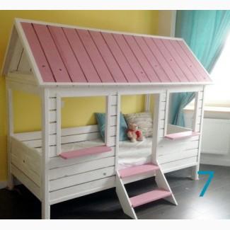Кроватка-домик из дерева. Экологично, удобно, красиво