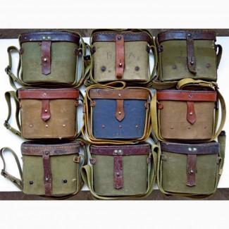 На бинокль СССР армейский Б6х30, Б8х30, Б8Мх30 на бинокли кофр-подсумок, футляр, чехол-сумка