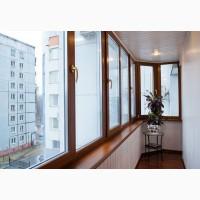 Остекление балконов и лоджий в Харькове от Окна Альтек