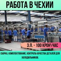 Комплектовщики на завод (Чехия)