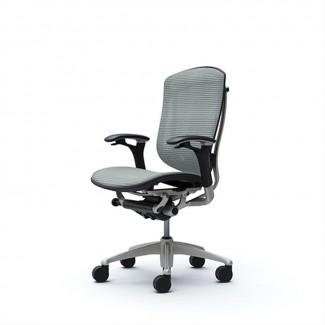 Японские Офисные Кресла CONTESSA OKAMURA Mesh Light Grey