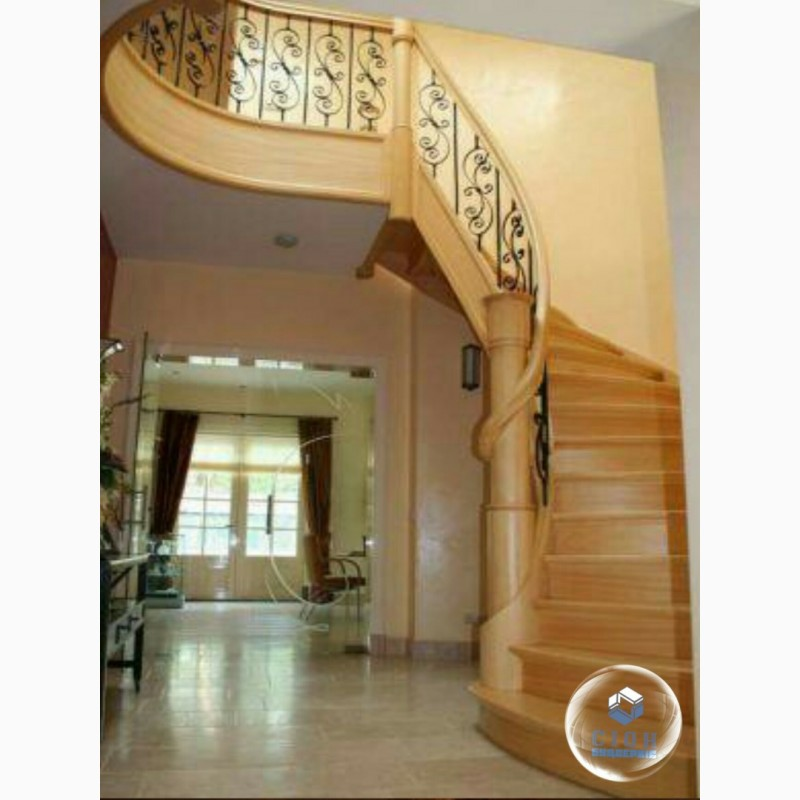 Купить площадку для лестницы из дерева - каталог, цены в