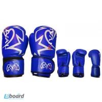 Боксерские кожаные перчатки Rival.-560гр