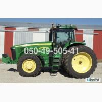 3777 мч powershift трактор Джон Дир John Deere 8420 (MFWD) из США цена