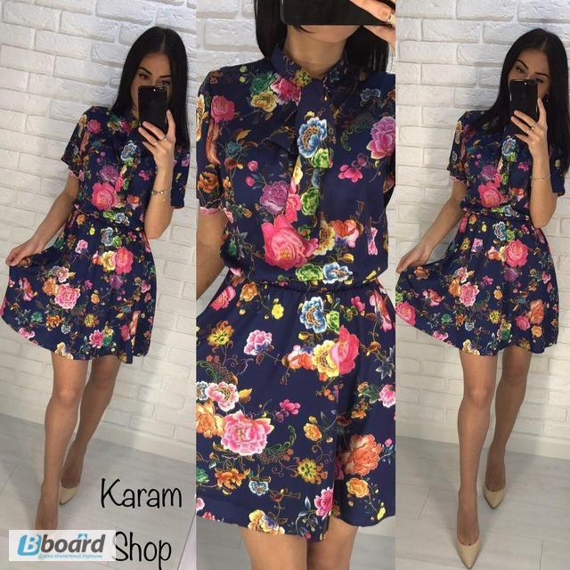 Стильное платье рубашка 2018