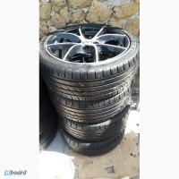 Диски легкосплавные 4х100 R17 с летними шинами