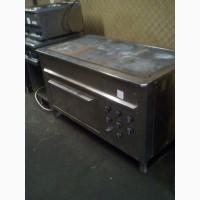 Плита 6 конфорок + духовка для столовой, общепита