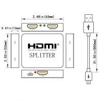 Видео распределитель HDMI 1Х2