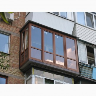 Балконы под ключ, лоджии, окна, двери