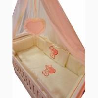 Акция! Эксклюзивные постельные наборы в кроватку от производителя