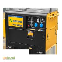Генератор дизельный Sadko (Садко) DSG-6500E. 6 кВт. Оригинал. Бесплатная доставка