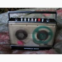 Катушечный (бобинный) магнитофон Орбита 303 + 2 бобины. РАРИТЕТ
