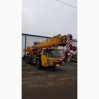 Продам автокран LT1025, грузоподъемность 25 тонн, длина стрелы 40 метров с гуськом