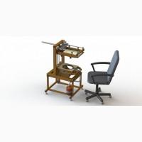 Полуавтоматическое оборудование для нанесения изображений на надувные шары МРШ - 07