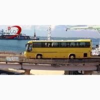 Заказать автобус в Одессе. Аренда автобуса Одесса. Пассажирские перевозки 30-50 мест. ДИВА