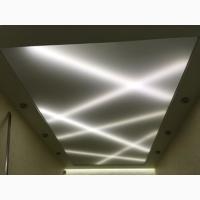 Натяжные потолки с подсветкой в ЗП