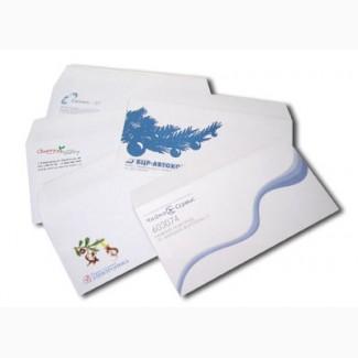 Печать конвертов, печать на конвертах