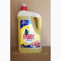 Fairy Цитрус гель для мытья посуды 5 литров