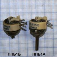 Резисторы проволочные переменные ППБ 15 видов в интернет-магазине Радиодетали у Бороды