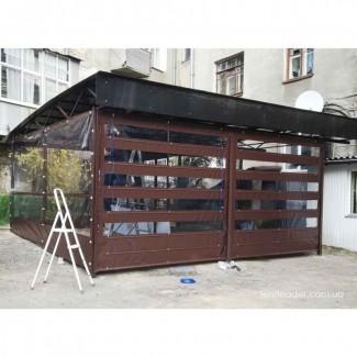 Прозрачные шторы для беседок, для веранды, террасы