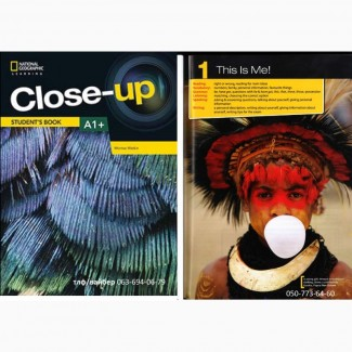 Продам Close Up A1+ students book + workbook комплект