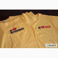 Печать и вышивка логотипа на текстиле: футболки, тенниски, полотенца и др