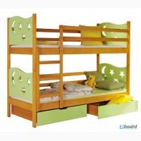 Новая двухъярусная детская кровать «Ярик»+акция