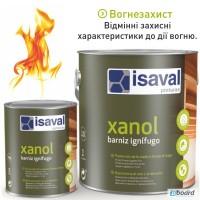Огнестойкий лак по дереву Isaval XANOL (Испания) 2.5 л прозрачный