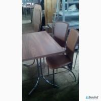 Стільці для кафе б/у коричеві