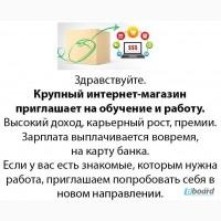 Работа-медеджер интернет магазина удалённо, со своего пк