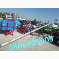 Покупайте шнековый зернометатель Kul-met. 8 м, 18 -20 т/ч. Фото с площадки