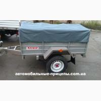 Автомобильный прицеп Лидер 1250*1800*400 мм Малыш Доставка по Украине