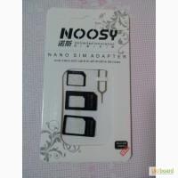 Переходник сим карт, Nano SIM Adapter, nano micro SIM Noosy