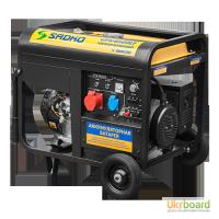Генератор Sadko (Садко) GPS-8500EF. 7, 5 кВт, 220, 380 В. Оригинал. Бесплатная доставка