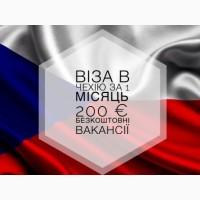 Рабочая ВИЗА в ЧЕХИЮ на 3 месяца с дальнейшим оформлением РАБОЧЕЙ КАРТЫ