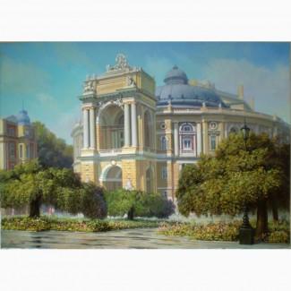 Продам Картина Одесский оперный театр холст, масло