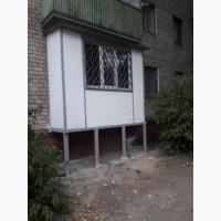 Балкон строительство